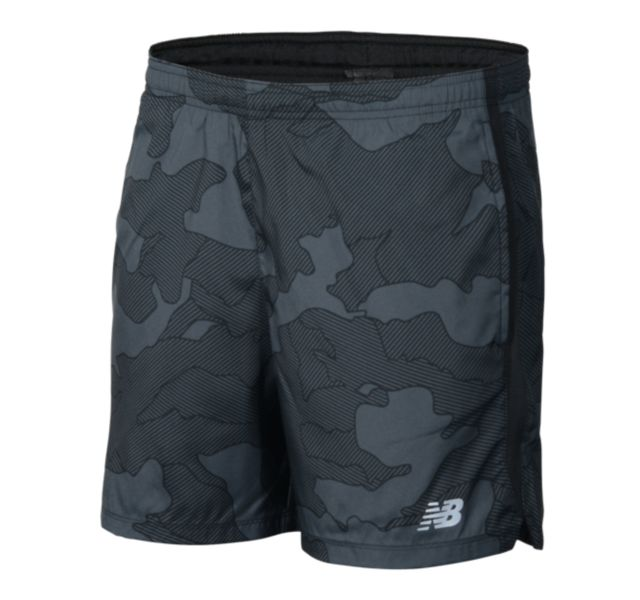 Men's Printed Accelerate 5 Inch Short