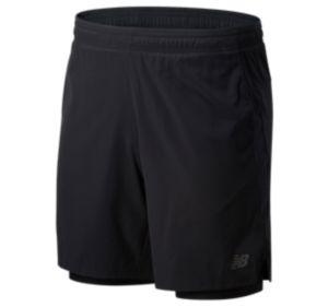 Men's Core 2 In 1 Woven 7 Inch Short
