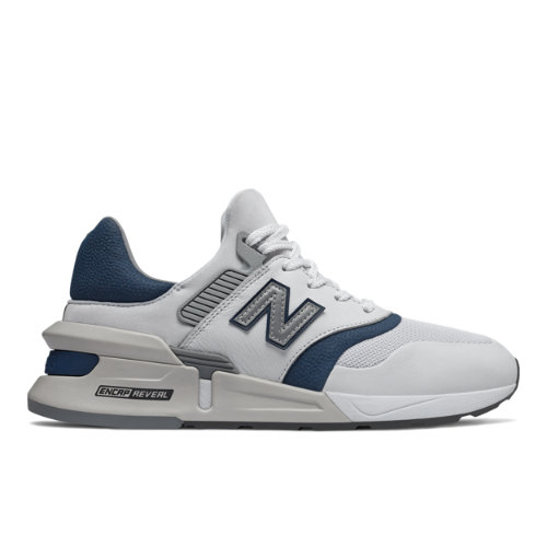 997 Sport Men's Sport Style Shoes - White/Blue (MS997HGD)