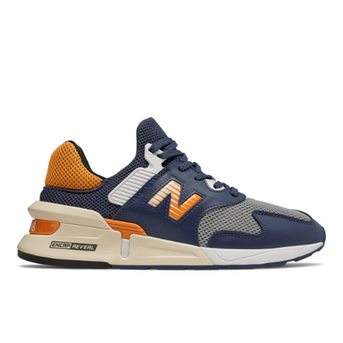 997 Sport Men's Sport Style Shoes - Blue/Orange (MS997JHE)