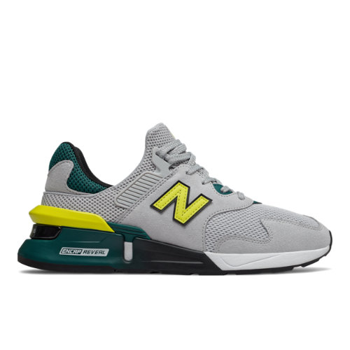 997 Sport Men's Sport Style Shoes - Grey/Green (MS997JKA)