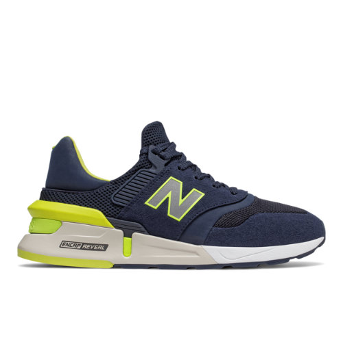 997 Sport Men's Sport Style Shoes - Navy/Green (MS997RH)