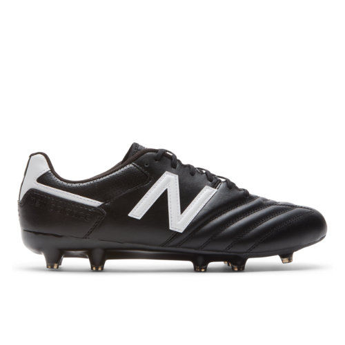 442 Team FG Men's Soccer Shoes - Black/White (MSCFFBW1)