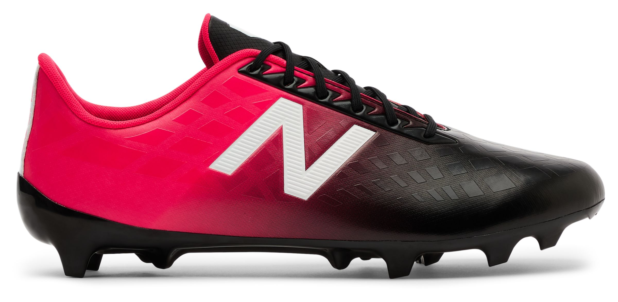 38cacea3b72d3 New Balance Men's Furon V4 Dispatch Fg Soccer Cleat Shoes Red With ...