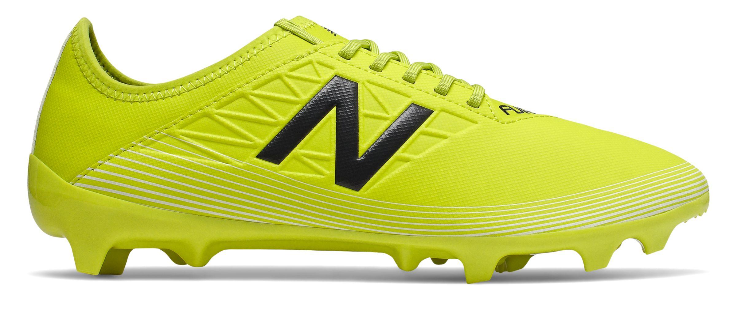 New Balance Men's Furon v5 Dispatch FG Soccer Cleat Shoes Ye