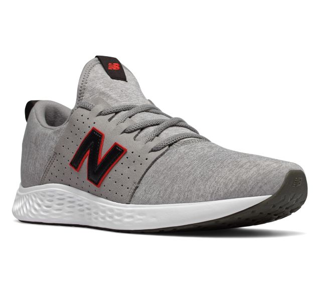 New Balance Men's Fresh Foam Sport Shoes (Light Grey)
