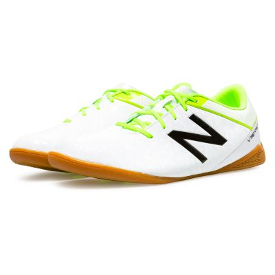 2957a57d7 New Balance Visaro Control Indoor Football Boots White Image