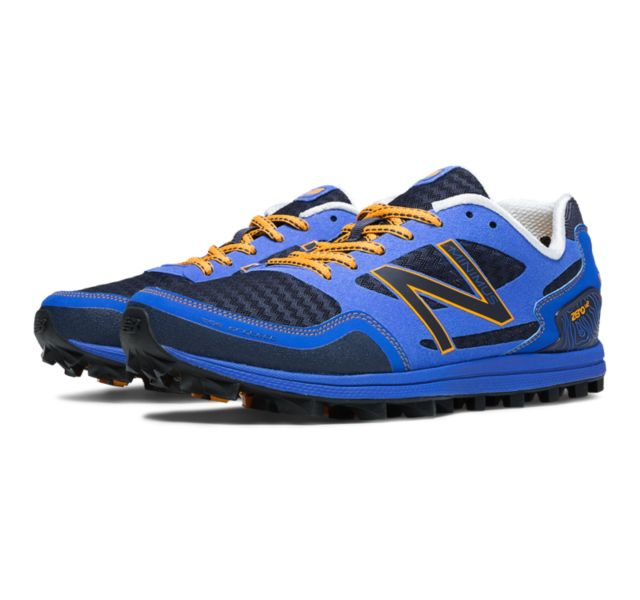 Men's Trail Running Shoes For Sale New Balance MT00v2 Blue/Orange Men MT00BO2 Best Choice