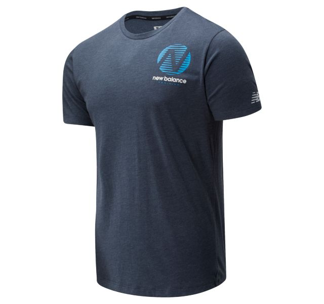 Men's Graphic Heathertech T