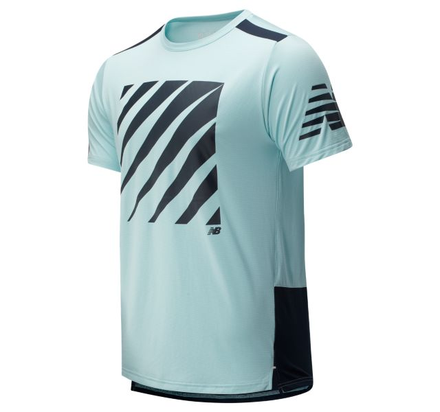 New Balance Men's Printed Fast Flight T-Shirt