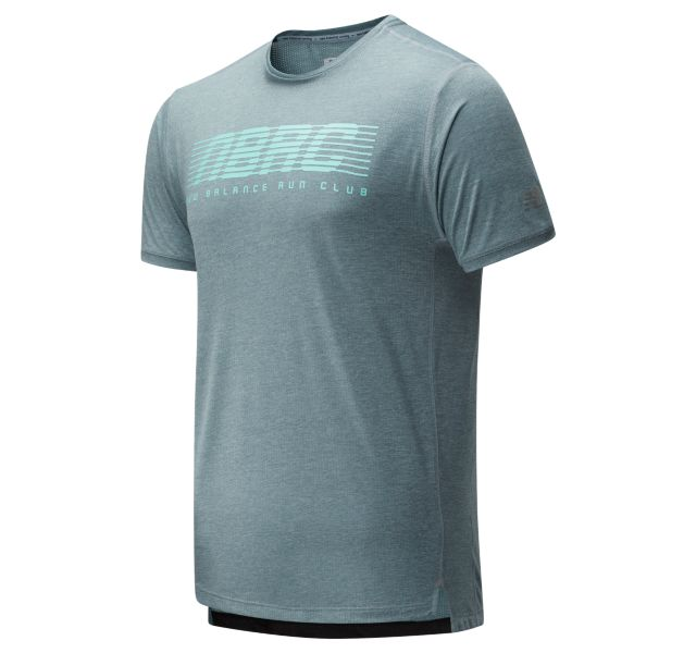 Men's Printed Impact Run Short Sleeve