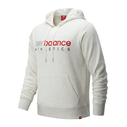 New Balance 01524 Men's Essentials Icon Hoodie - Off White (MT01524SAH)
