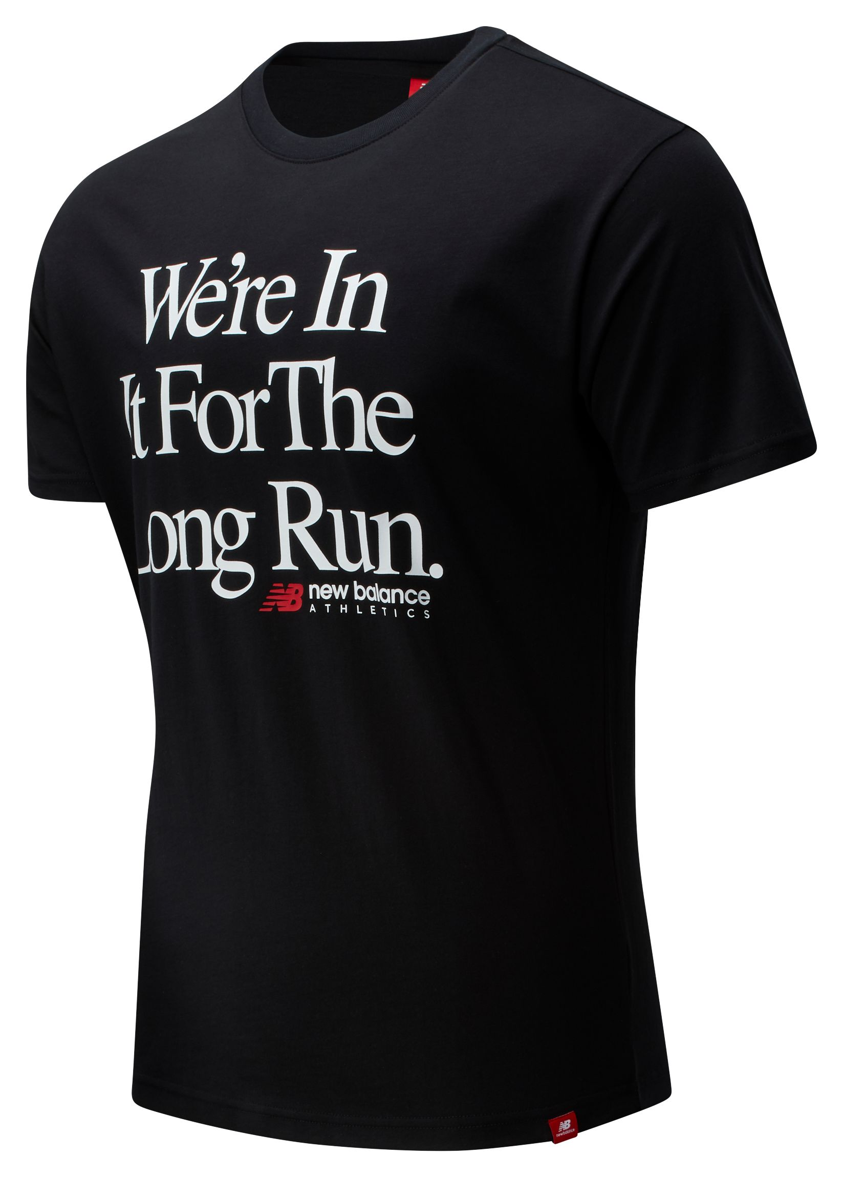 Men's Essentials Icon Long Run Tee