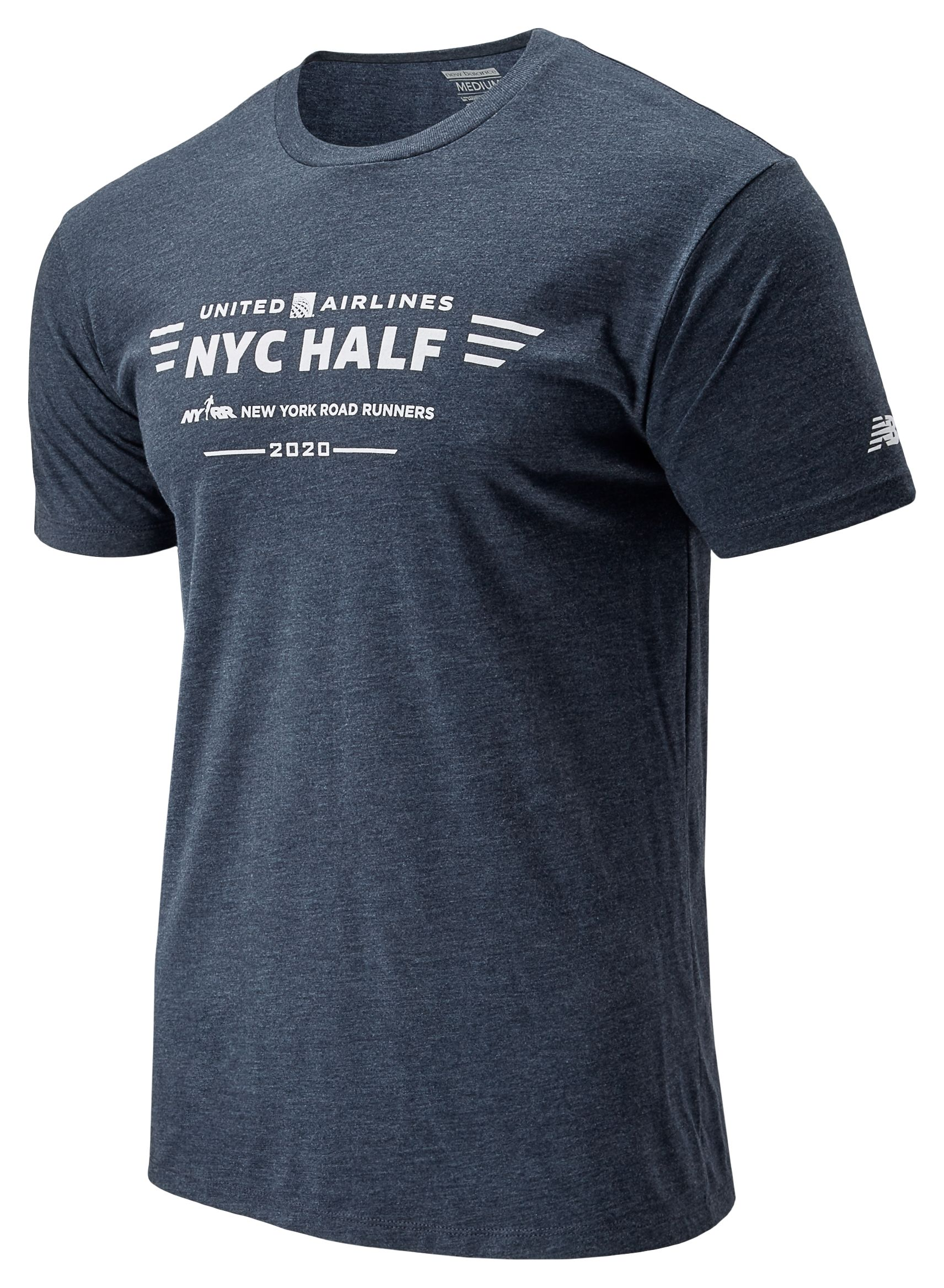 Men's 2020 United Airlines Half Logo Tee