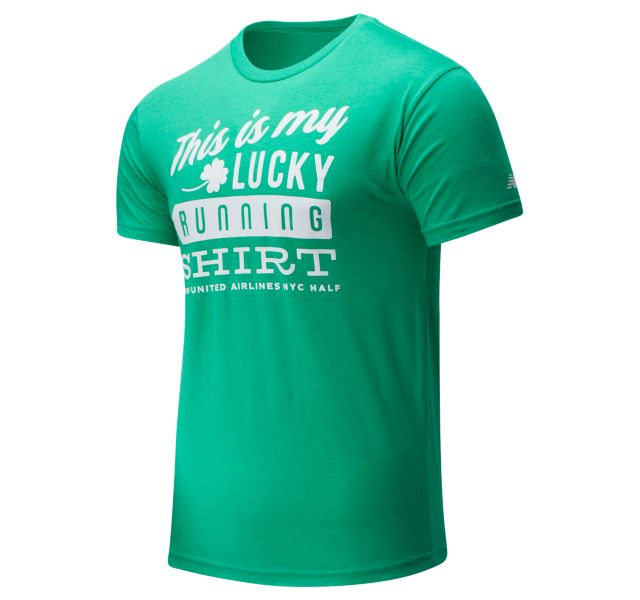 Men's 2020 United Airlines Half St. Patrick's Day Tee