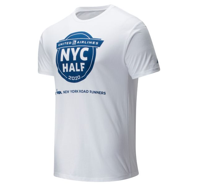 Men's 2020 United Airlines Half Finisher Map Tee