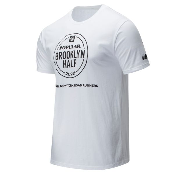Men's 2020 Popular Brooklyn Half Logo Tee