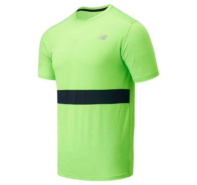 Men's Striped Accelerate Short Sleeve