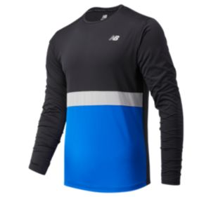 Men's Striped Accelerate Long Sleeve