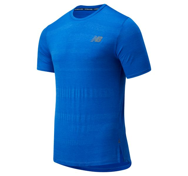 Men's Q Speed Fuel Jacquard Short Sleeve