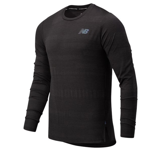 Men's Q Speed Fuel Jacquard Long Sleeve