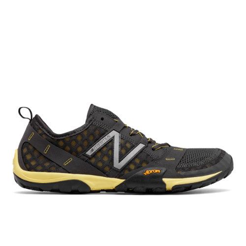 Minimus Trail 10 Men's Trail Running Shoes - Grey/Yellow (MT10GG)