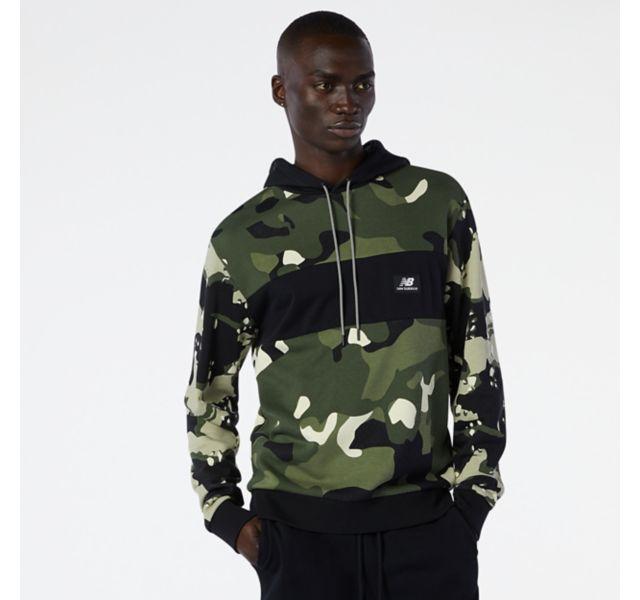 Men's NB Essentials Fleece Camo Hoodie