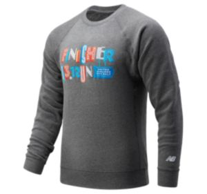 Men's United Airlines NYC Half Finisher Sign Crew Sweatshirt