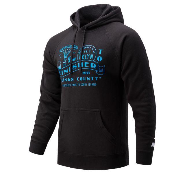Men's NYRR Brooklyn Half Finisher Sweatshirt Hoodie