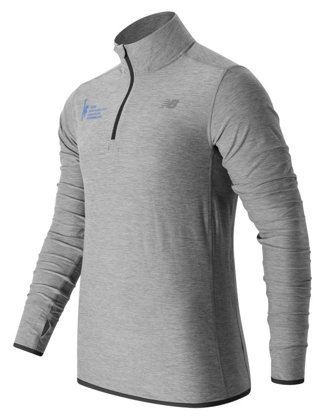Men's NYC Marathon Training N Transit Quarter Zip