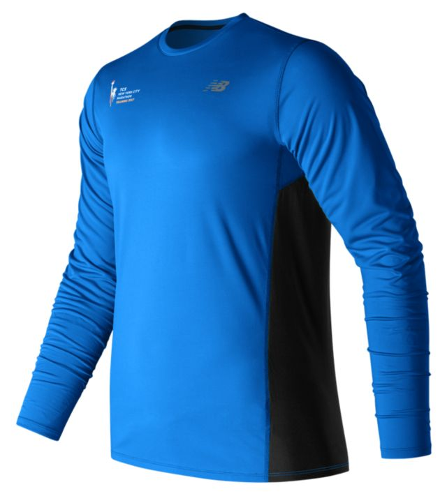 Men's NYC Marathon Training LS Tee