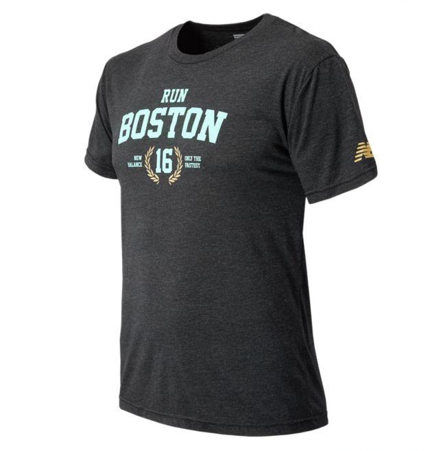 Mens Run Boston Tee