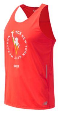 Men's NYC Marathon NB Ice Singlet
