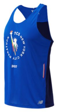Men's NYC Marathon NB Ice Singlet