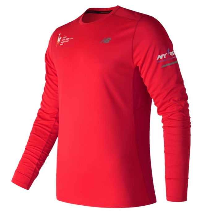 Men's NYC Marathon NB Ice Long Sleeve