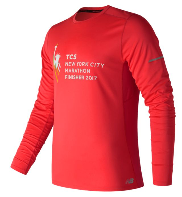 NYC Marathon Finisher NB Ice Long Sleeve