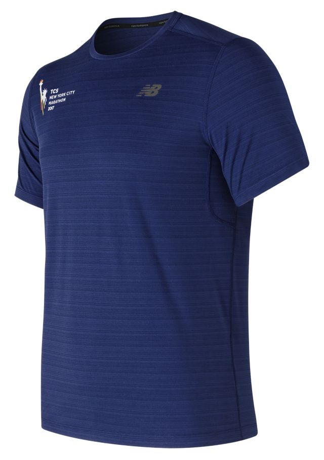 Men's NYC Marathon Fantom Force Short Sleeve Top