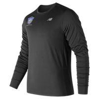 United NYC Half Accelerate Training Long Sleeve Men's T-Shirt (Black)