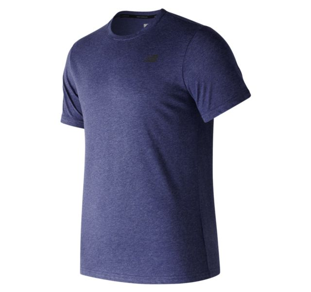 Men's Heather Tech Short Sleeve