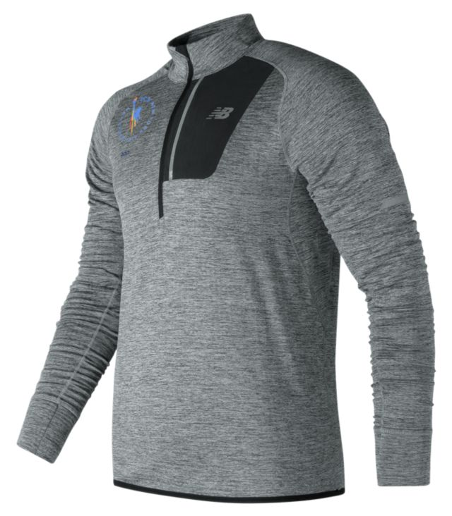Men's NYC Marathon NB Heat Half Zip