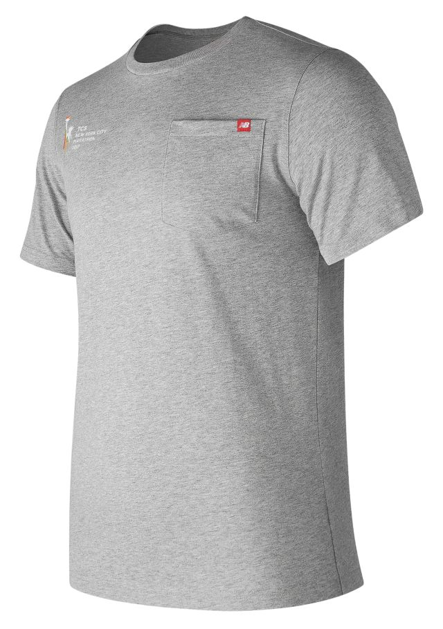 Men's NYC Marathon Essential Pocket Tee