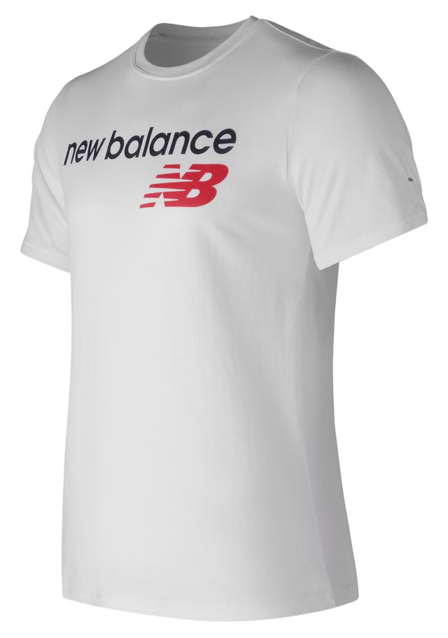 Men's NB Athletics Main Logo Tee