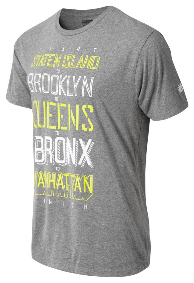Men's NYC Marathon Boroughs