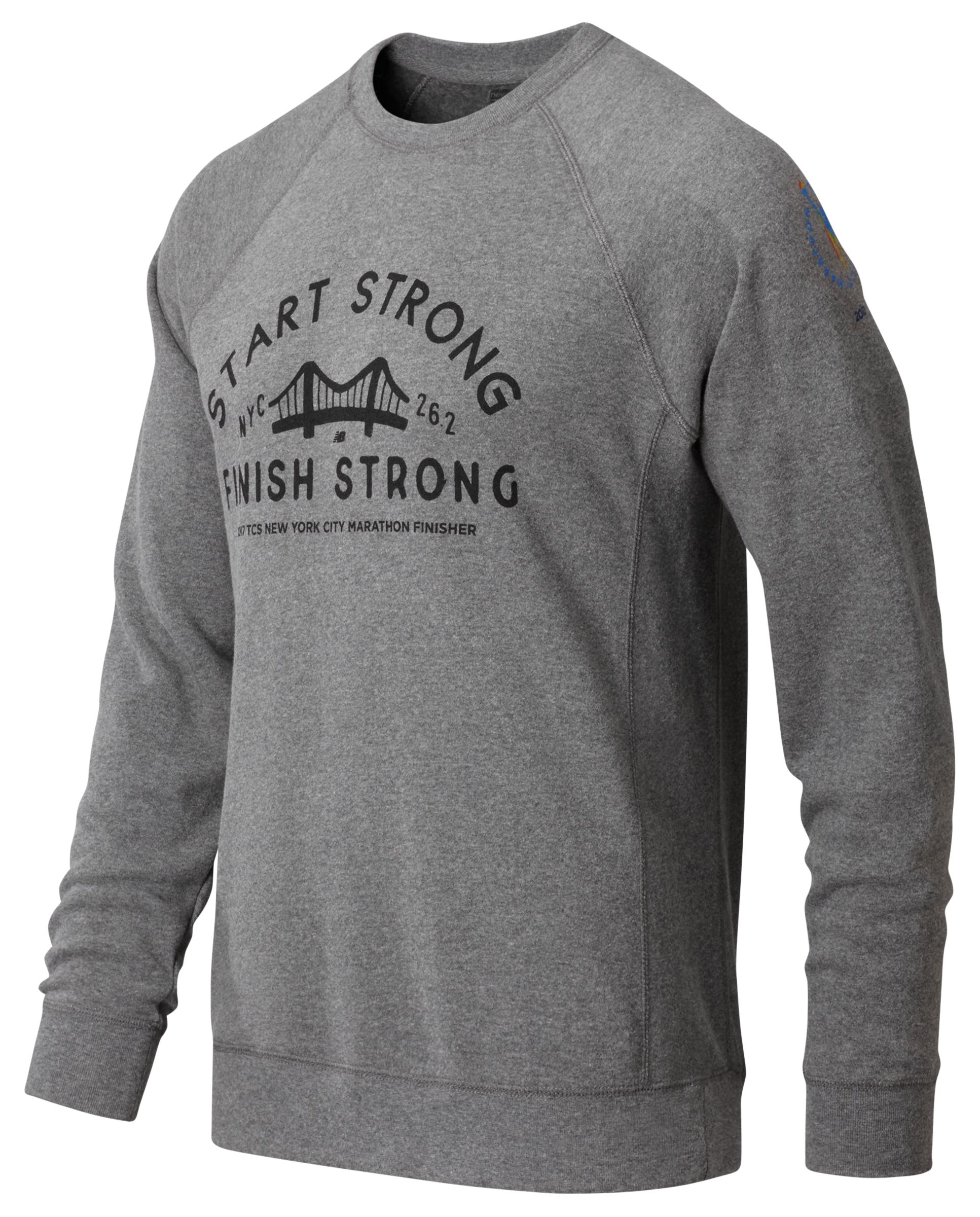 Men's NYC Marathon Finish Strong Long Sleeve