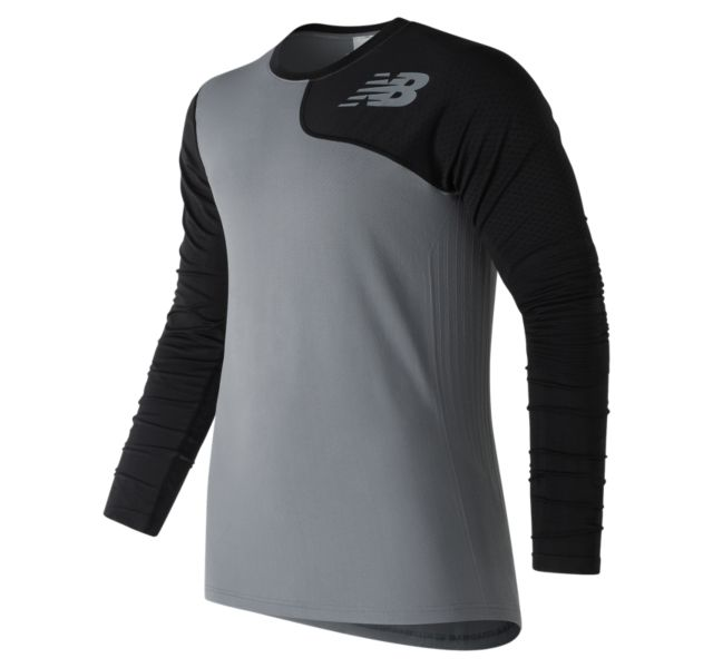 Men's Seamless Asym Left Top