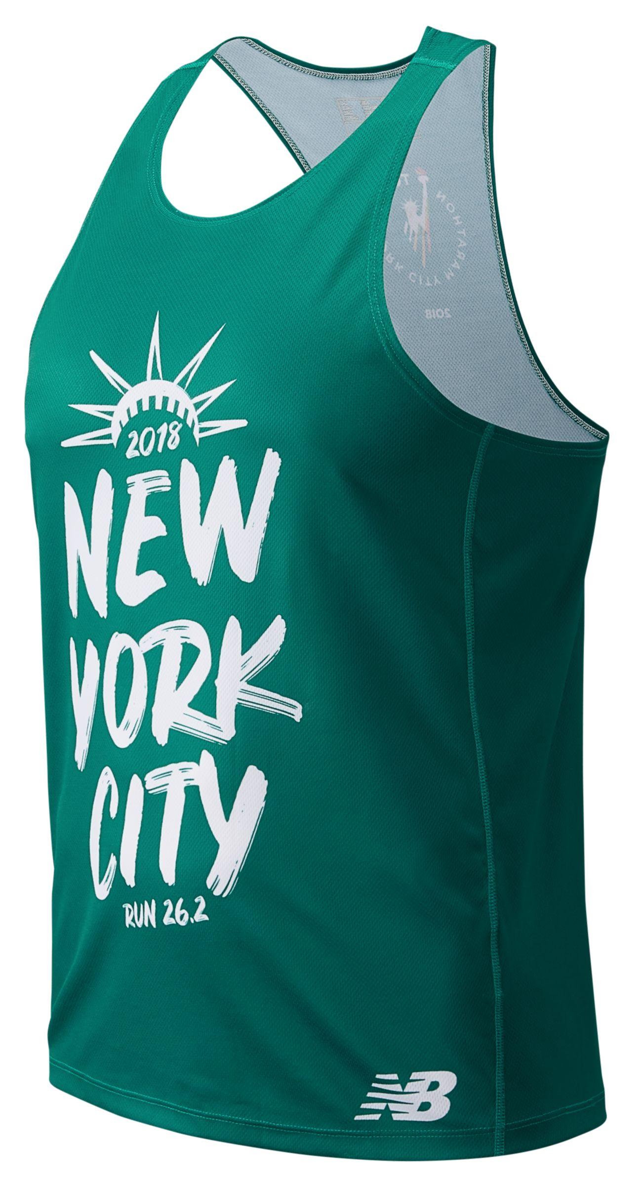 NEW New Balance TCS New York City Marathon 2018 Singlet Tank Top ...