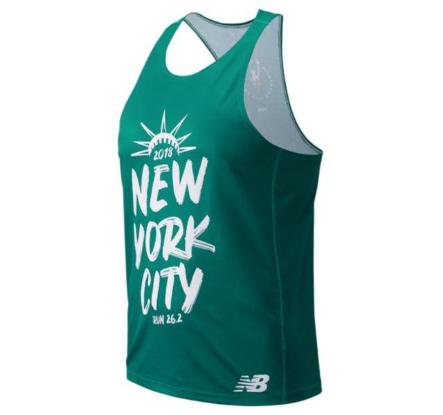 Men's 2018 NYC Marathon Singlet
