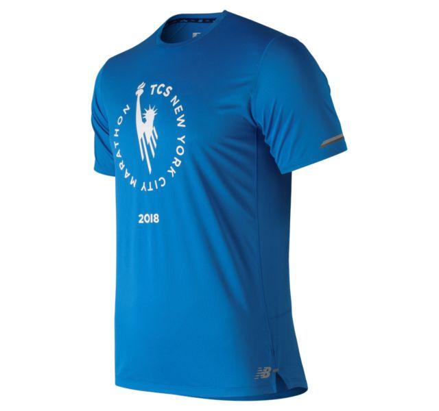 Men's NYC Marathon NB Ice 2.0 Short Sleeve