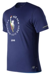 Men's NYC Marathon NB Ice 2.0 Short Sleeve
