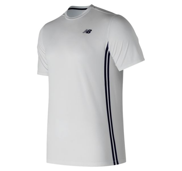 New Balance Men's Rally Court Crew Short Sleeve Shirt